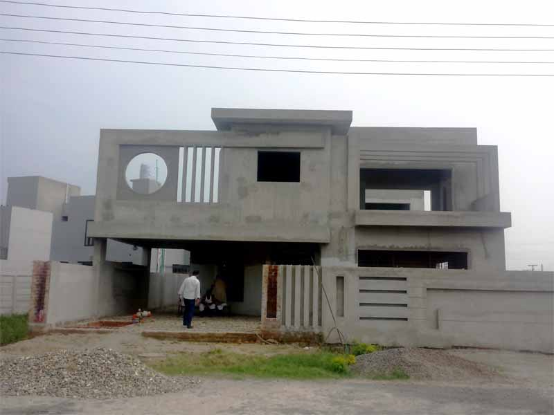 Grey Structure construction rate lahore