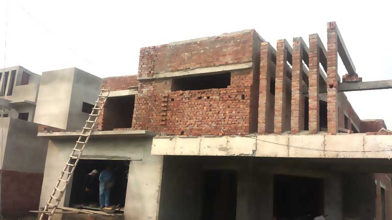 Brick work Grey Structure Construction