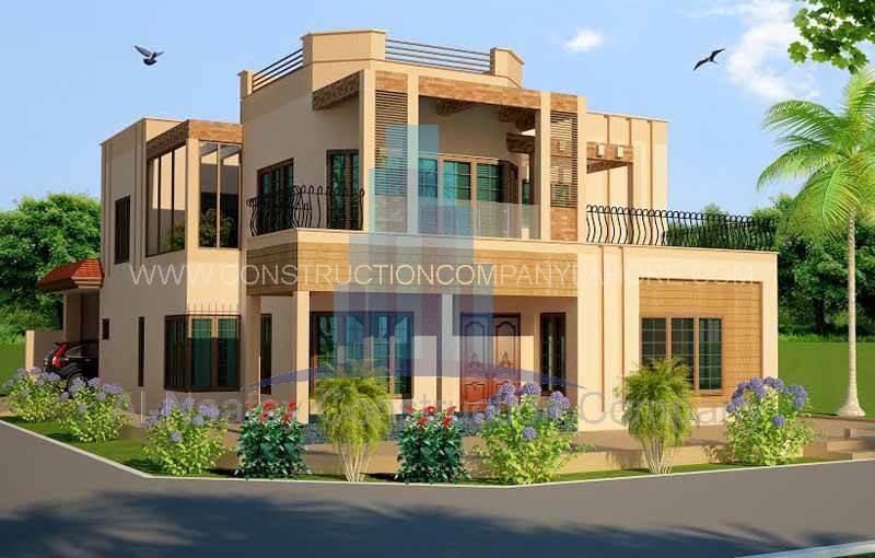 HBFC Housing Society Construction by AL Naafay Construction Company Lahore