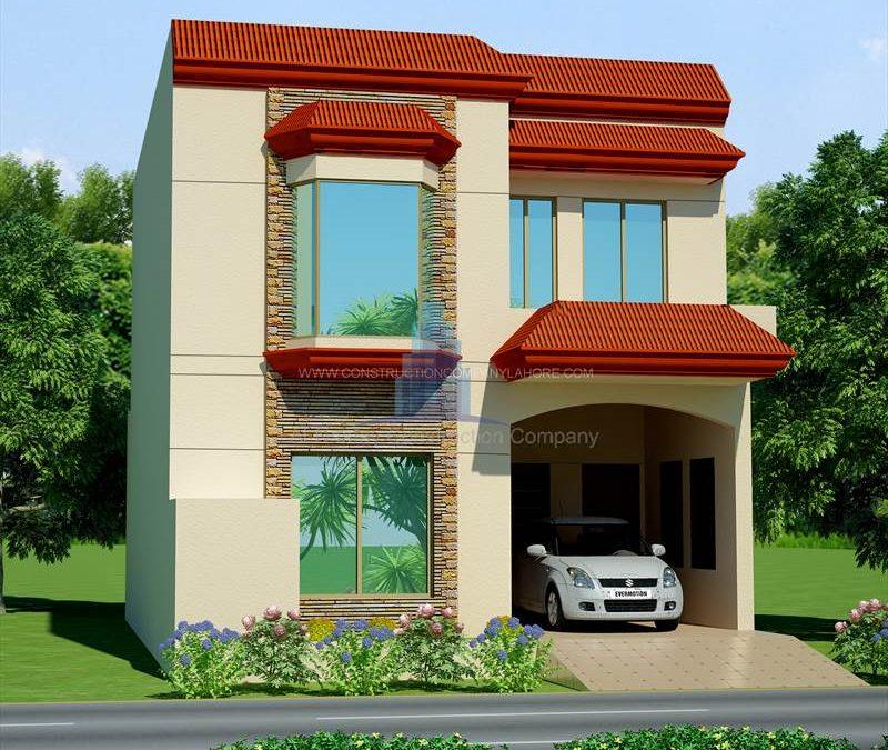 House Design Canal Garden