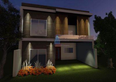 6 marla home design LMC