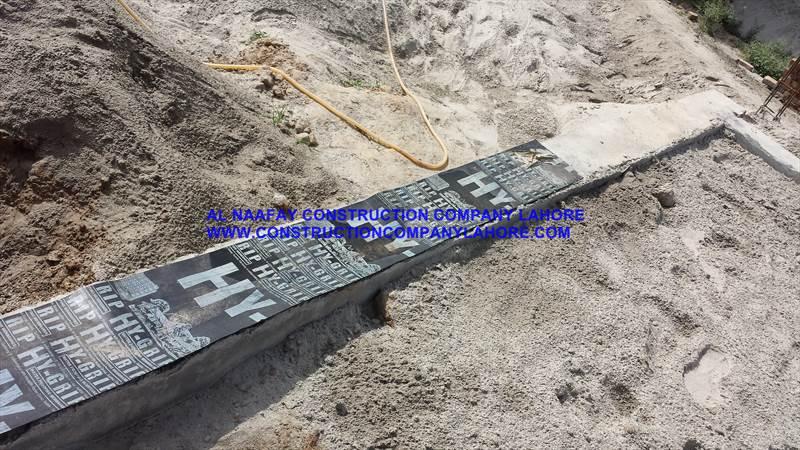 membrane sheet waterproofing Apply