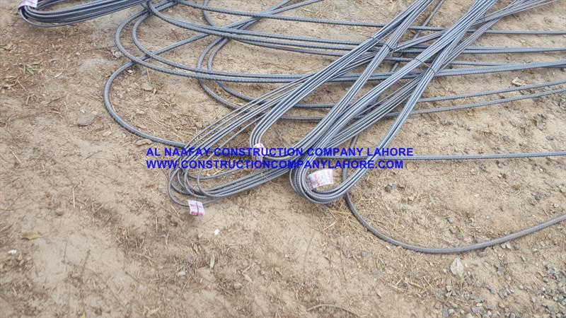 Grade 60 Steel Use for Slabs Mughal