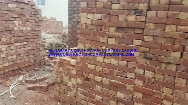 Bricks use Grey structure construction