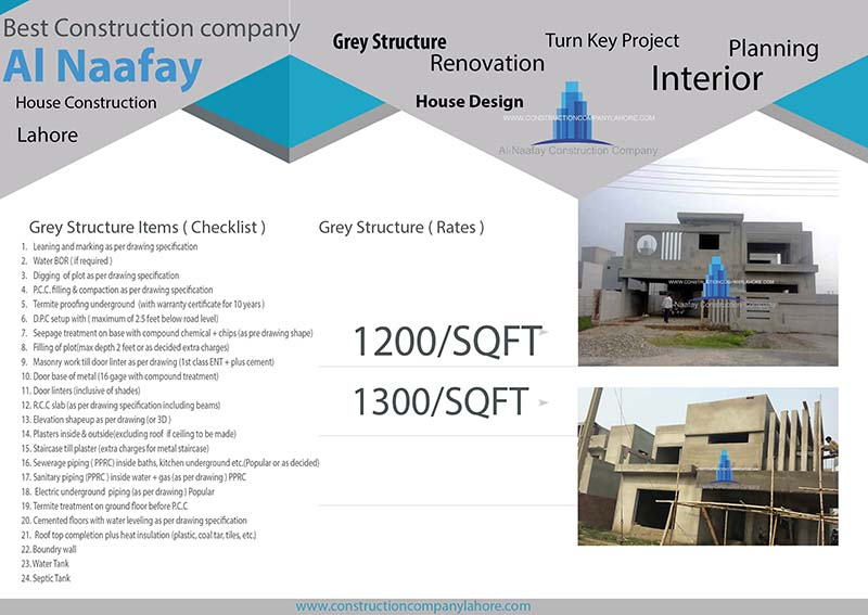 Grey Structure Construction Rate