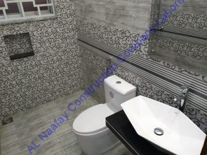 washroom design construction A+ design