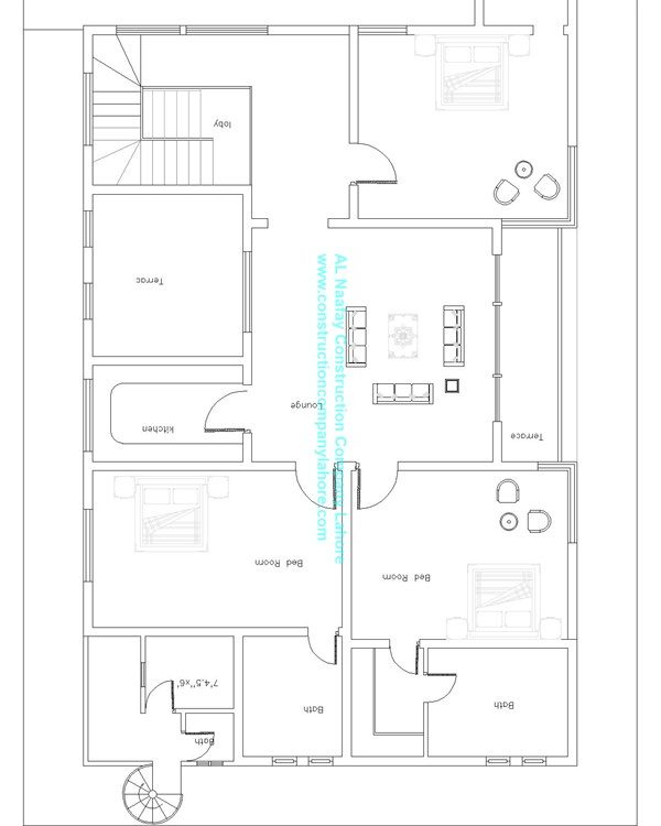 house map First floor