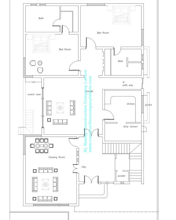 house map ground floor