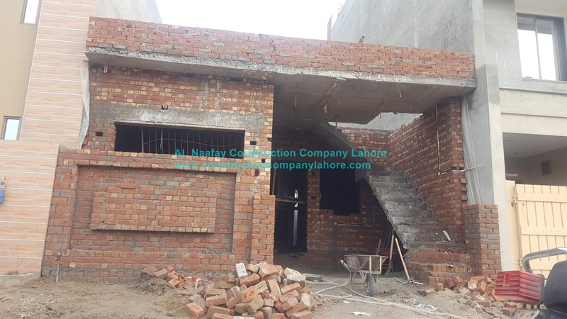 5 marla house complete brick structure