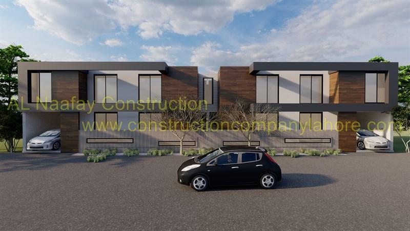 Cheniot Duplex House Project